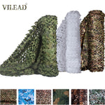 VILEAD Simple 1.5x6 1.5x10 Camouflage Nets White Mesh 1.5M Army Military Camo Netting for Hunting Car Covers Tent Sun Shelter
