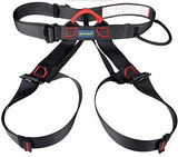 Xinda Professional Outdoor Sports Safety Belt Rock Climbing Harness Waist Support Half Body Harness Aerial Survival Equipment