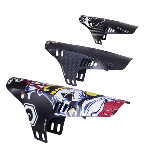 Richbit 2 Pcs Road Bike Fender Mountain Bicycle Fender Front Rear Mudguard Road Cycling Mountain Front+Rear MTB Fender 2 pcs