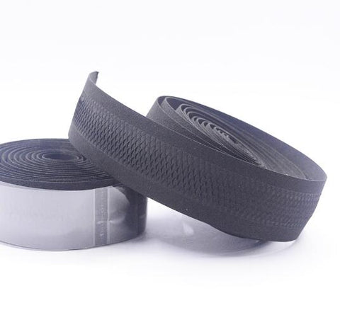 PROMEND Road Bikes Bicycle Handlebar Tape Balck Mesh Design Non-slip waterproof Bartape Soft EVA Sponge Tape Black