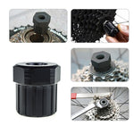 Bike Bicycle Cassette Flywheel Freewheel Lockring Remover Removal Repair Tool For Bike Bicycle Shimano Black
