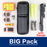 GIYO Bicycle Repair Kits Bag Bike Multifunction Tools Cycling Repair Tools Kits set Tire Repair Kits Tool Bottle Bag Portable
