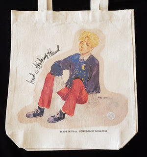 """Lend a Helping Hand"" Tote Bag [SKU: J6]"