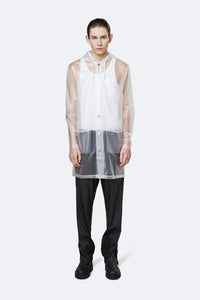 RAINS - Transparent Hooded Coat