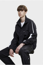Load image into Gallery viewer, NEIGE - Tag Track Jacket Black