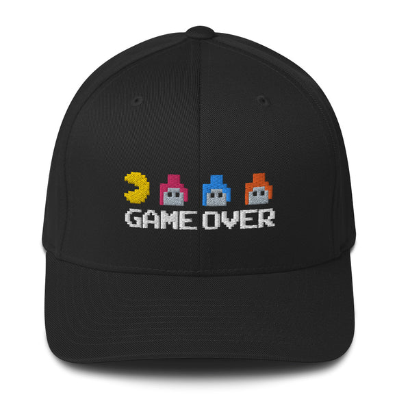 Game Over Video Game Baseball Hat