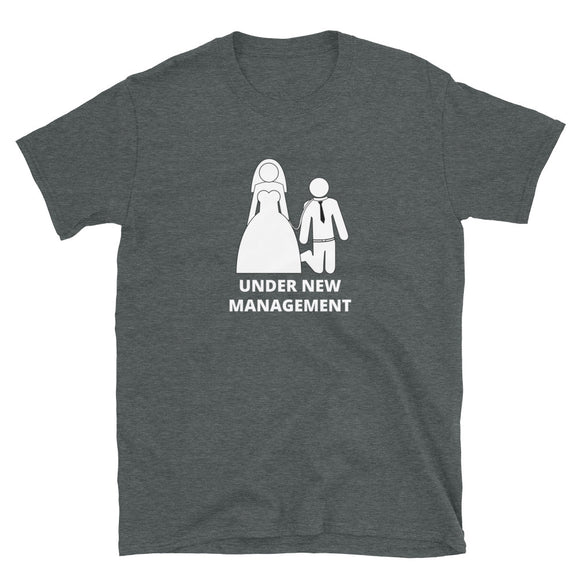 Under New Management Bachelor Party T-Shirt