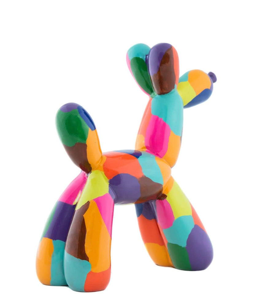 Koons Inspired Plus Artist Balloon Dog ceramic