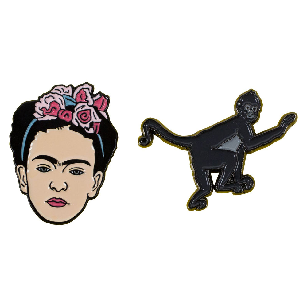 Frida Kahlo Monkey Pin