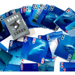3-D Shark Cards playing cards