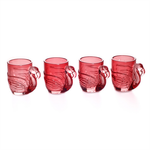 Pink Flamingo Shot Glass Individual shot glass