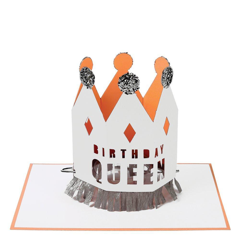 Load image into Gallery viewer, Crowned Birthday Queen Card