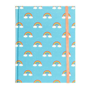 Rainbow Hardcover Journal journal
