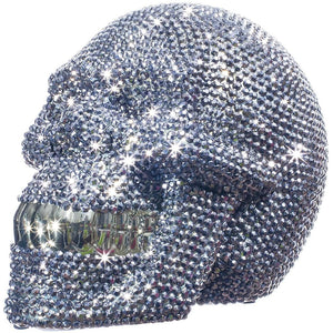Load image into Gallery viewer, Rhinestone Skull ceramic