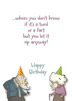 You're At That Special Age greeting card