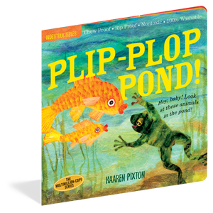 Load image into Gallery viewer, Indestructibles: Plip-Plop Pond book