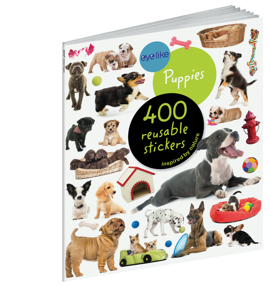 Eyelike Stickers: Puppies activity book