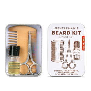 Gentleman's Beard Tin gift set