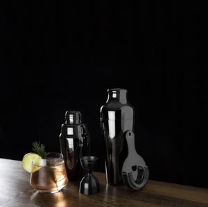 Load image into Gallery viewer, Warren: Gunmetal Black Heavyweight Cocktail Shaker