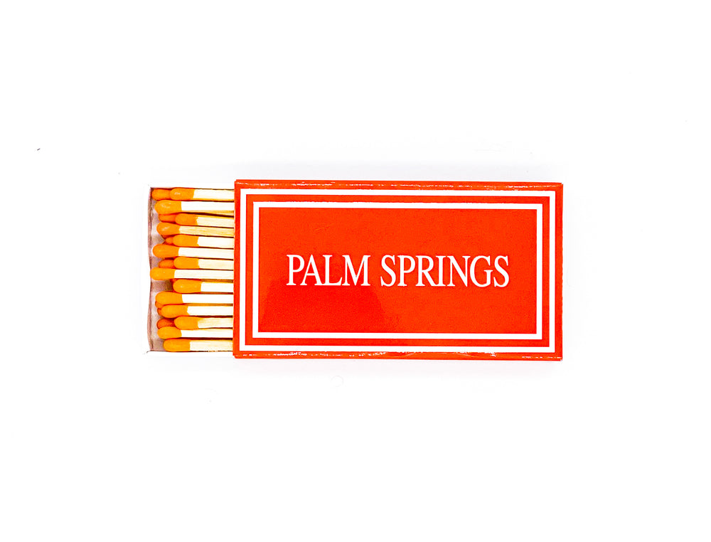 Palm Springs Matches - Orange