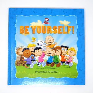 Peanuts: Be Yourself book