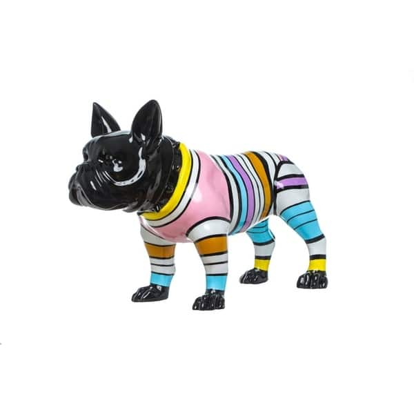 Bulldog With Color Stripe ceramic