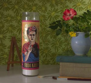 Load image into Gallery viewer, Kahlo Secular Saint Candle