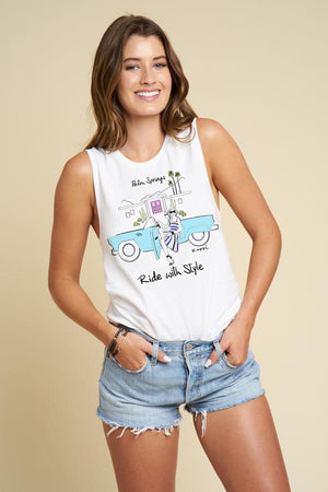 Ride With Style Muscle Tee
