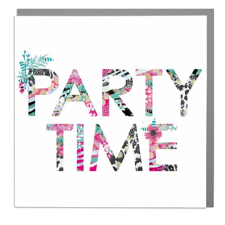 Hola Party Time greeting card