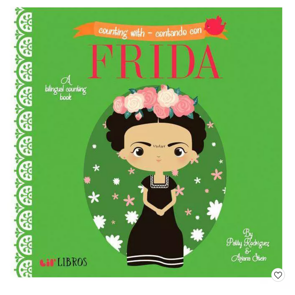 Load image into Gallery viewer, Counting With Frida - Contando Con Frida - A Bilingual Book