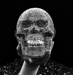 Load image into Gallery viewer, Rhinestone Skull