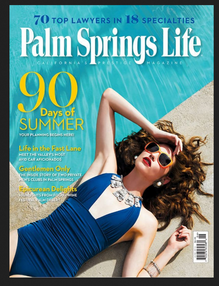 Load image into Gallery viewer, Palm Springs Life Magazine