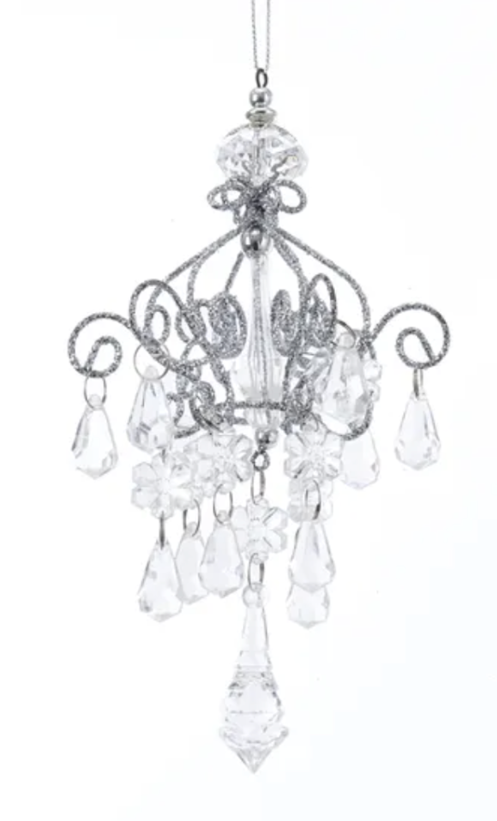 Acrylic Drop Chandelier Ornament