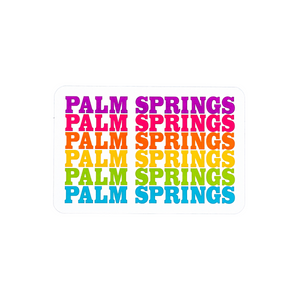Palm Springs Rainbow Magnet