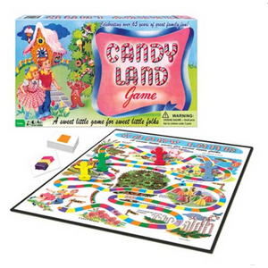 Candy Land Boardgame game