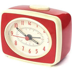 Small Classic Alarm Clock: Red clock