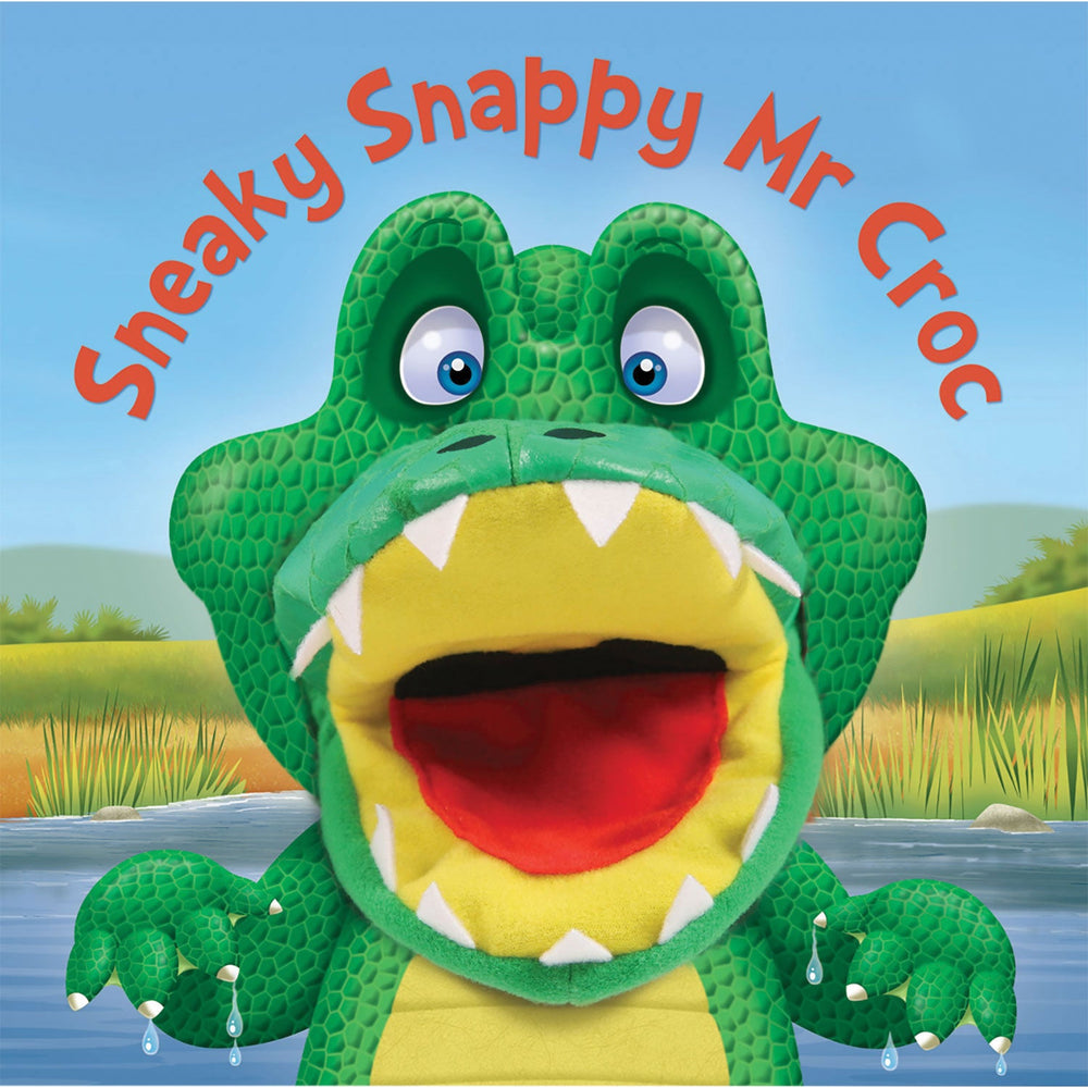 Sneaky Snappy Mr. Crocodile book