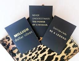 Journal - Never Underestimate the Power of a Woman journal
