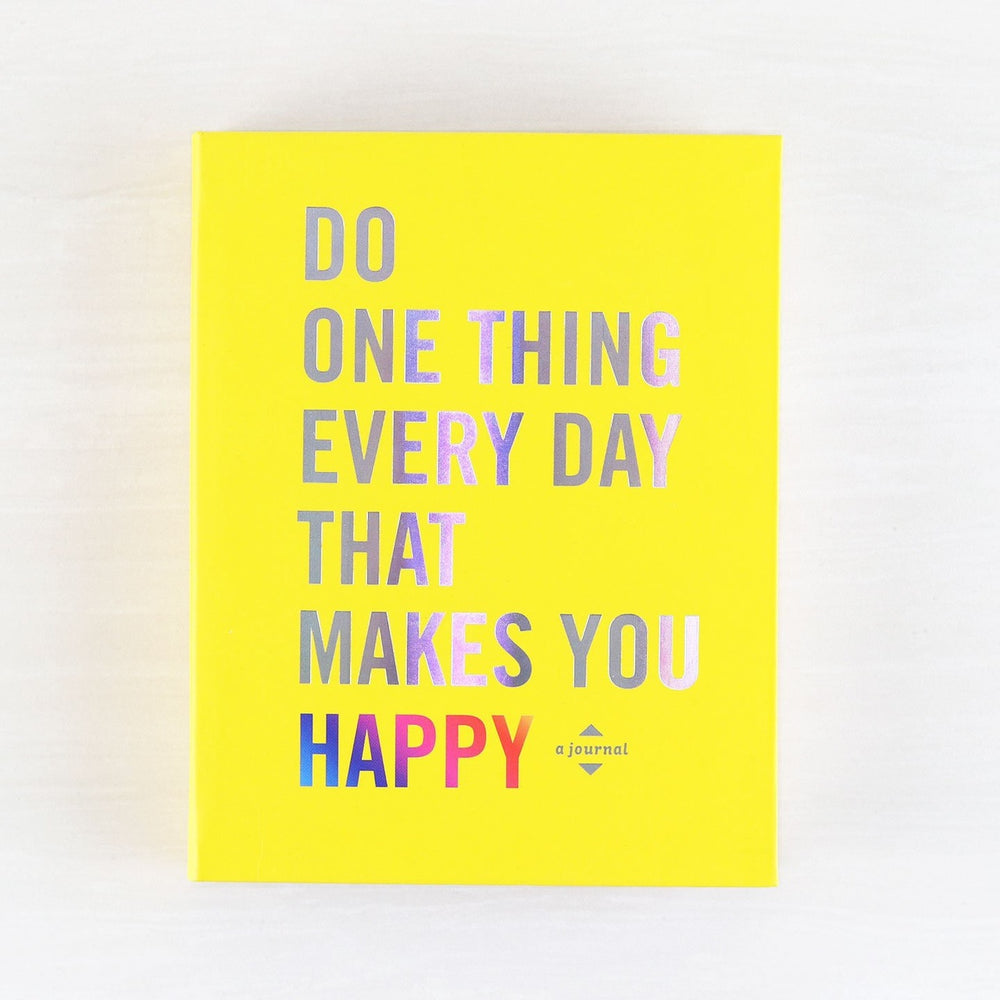 Do One Thing Every Day... Happy book