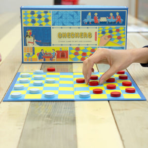 Checkers: Classic Game of Wit and Cunning game
