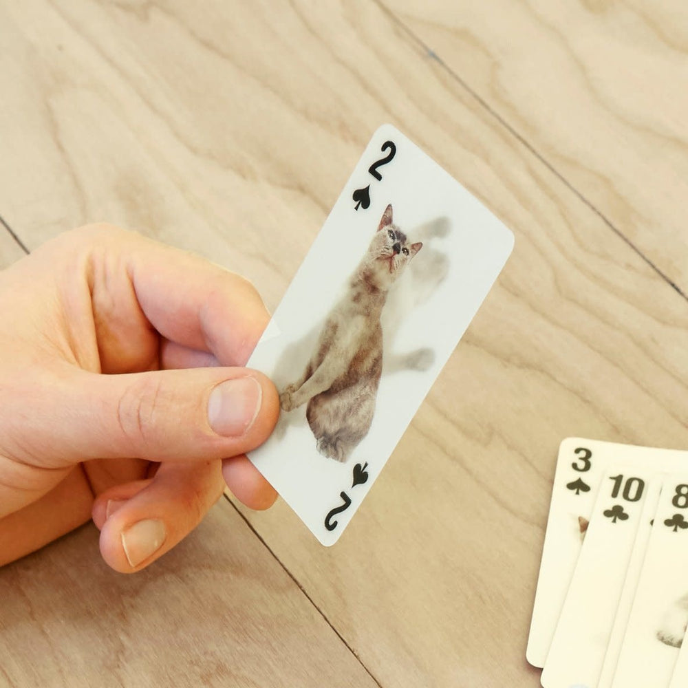 Load image into Gallery viewer, Cats 3D Playing Cards playing cards