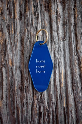 Load image into Gallery viewer, Home Sweet Home Key Tag keychain