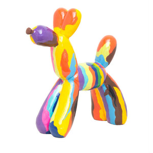 Koons Inspired Graffiti Balloon Dog ceramic
