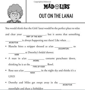 Load image into Gallery viewer, The Golden Girls Mad Libs - Just Fabulous Palm Springs