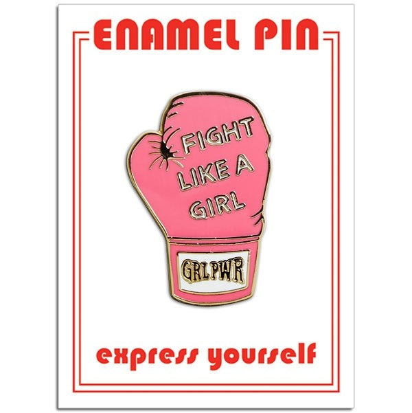 Fight Like A Girl Pin pin