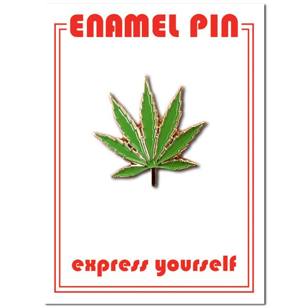 Load image into Gallery viewer, Pin: Marijuana Leaf
