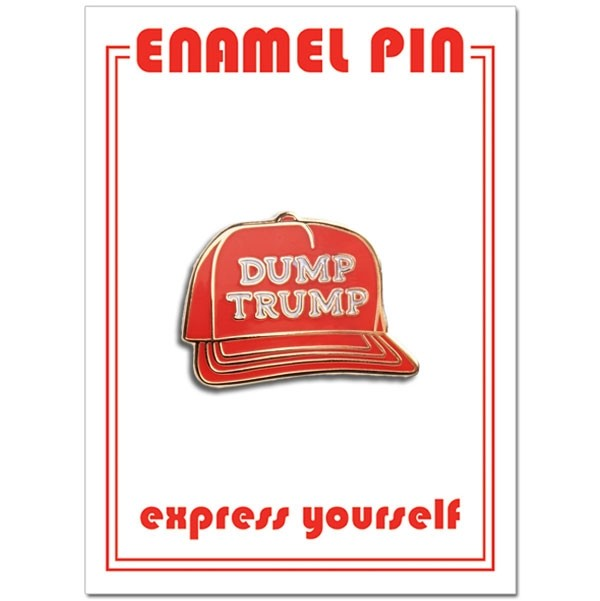 Load image into Gallery viewer, Dump Trump Pin pin