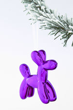 Koons Inspired Balloon Dog Ornament x-mas ornament