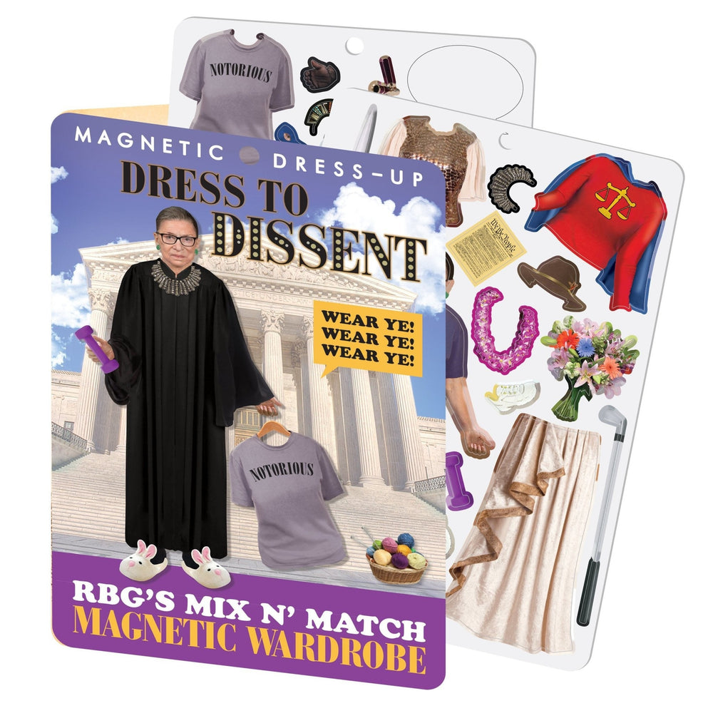 RBG Dress To Dissent - Magnet Wardrobe magnet set