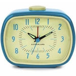 Retro Alarm Clock Blue clock